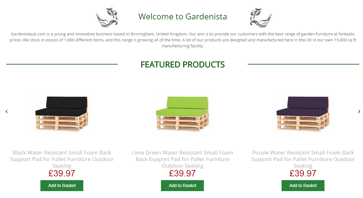 Gardenista Is The Leading Provider Of Waterproof Scatter Cushions