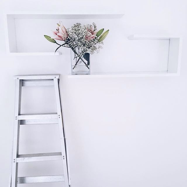 Industrial ladders used for interior purposes