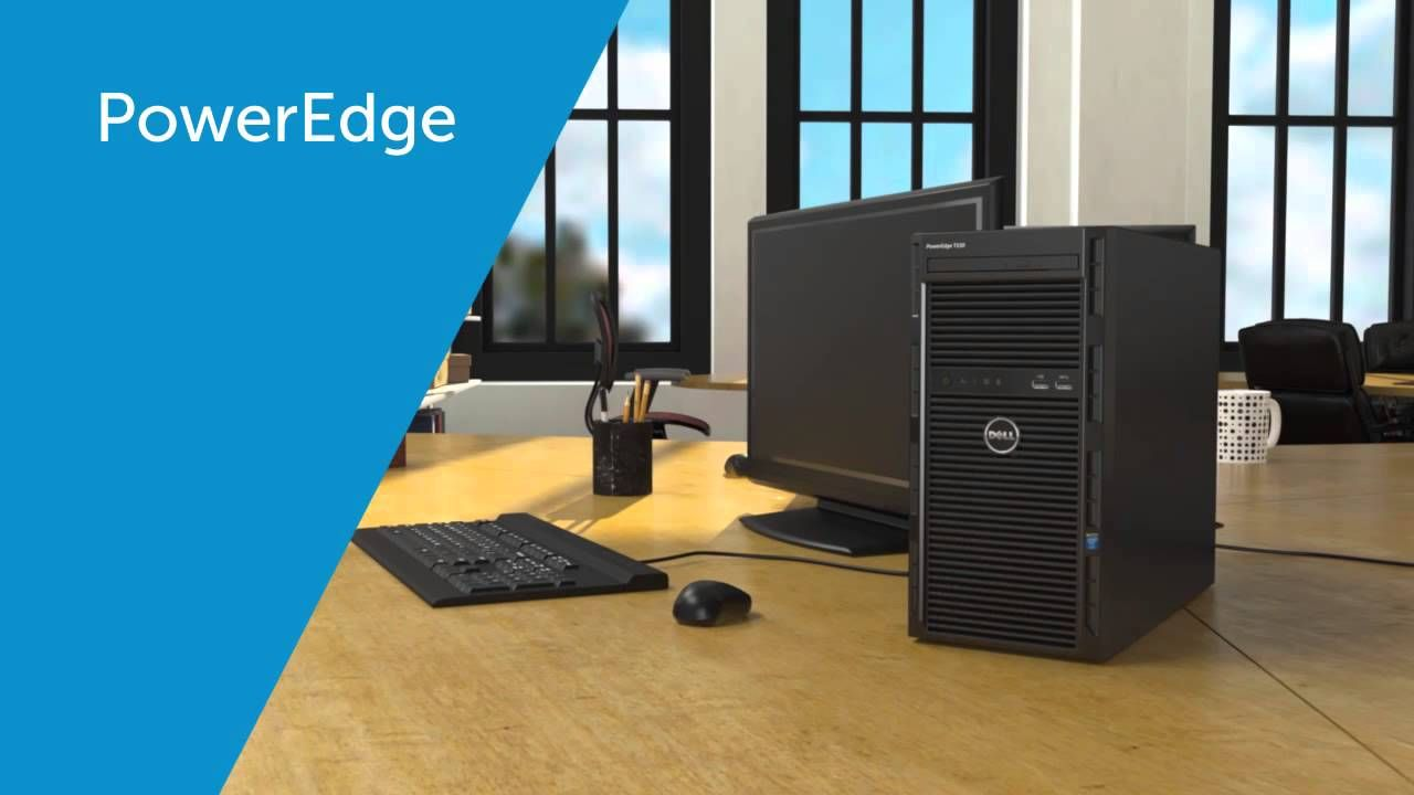 DELL PowerEdge T130 Tower Server - Powerful, compact, agile