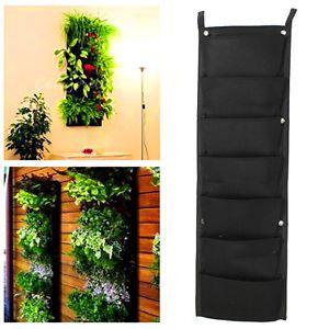 7-Pocket-Indoor-Outdoor-Wall-Balcony-Herbs-Vertical-Garden-Hanging-Planter-Bag