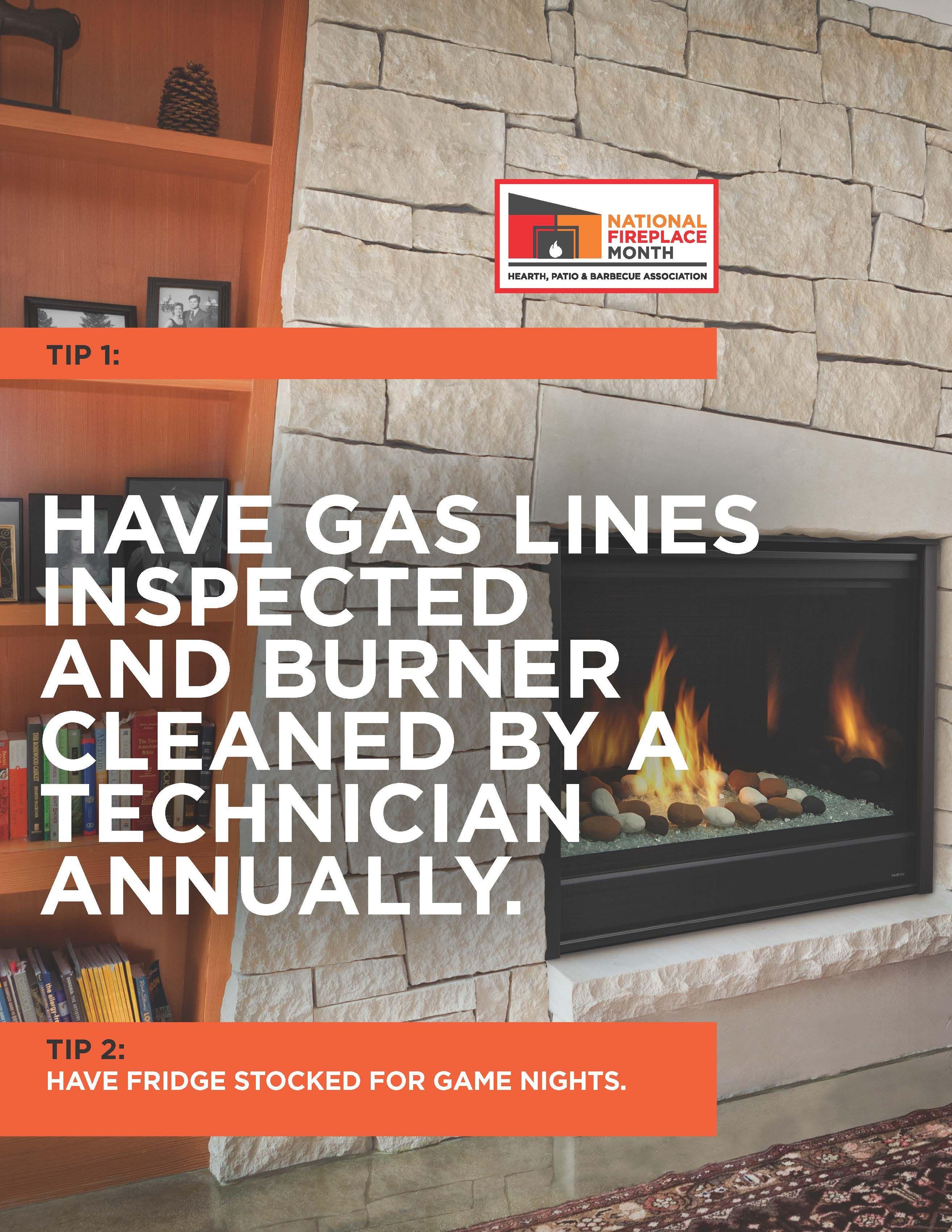 Gas Fireplace Safety Tips Fireplace Safety Fire Safety Tips