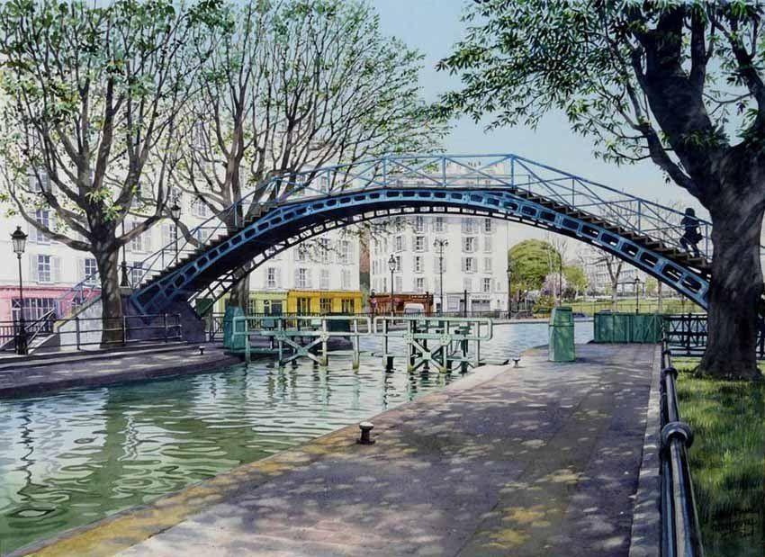 Paname Paris 195k On En 2019 Ville En Aquarelle Architecture