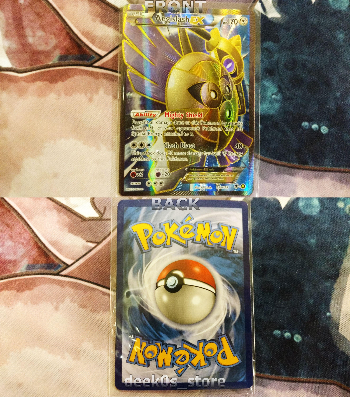Aegislash ex full art rare pokemon card pokemon cards