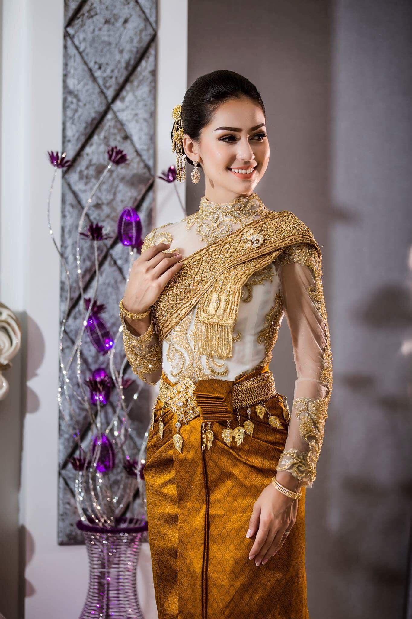 Pin by monirath pich on khemara in pinterest dresses