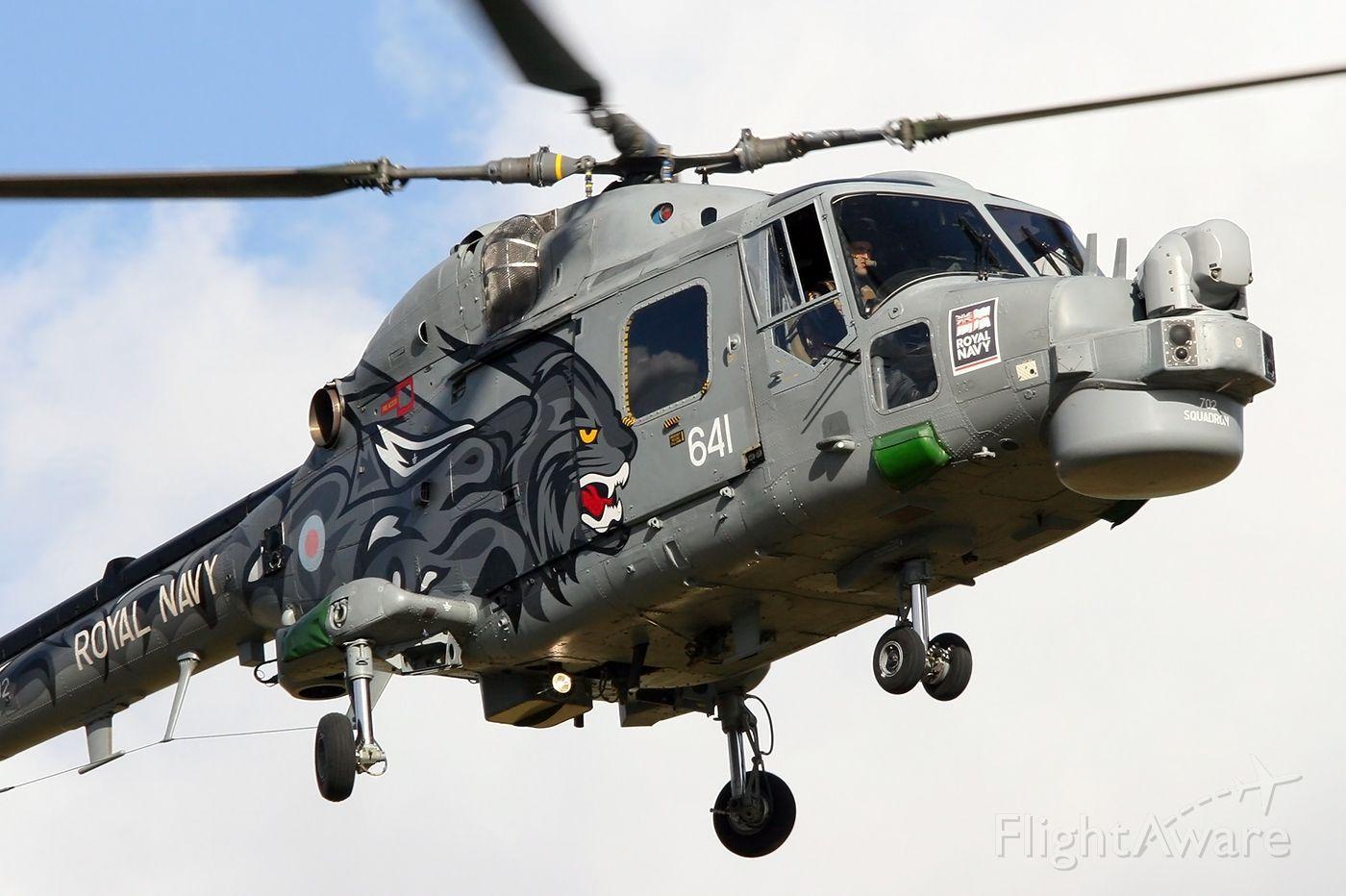 Westland Lynx navy nose wheel