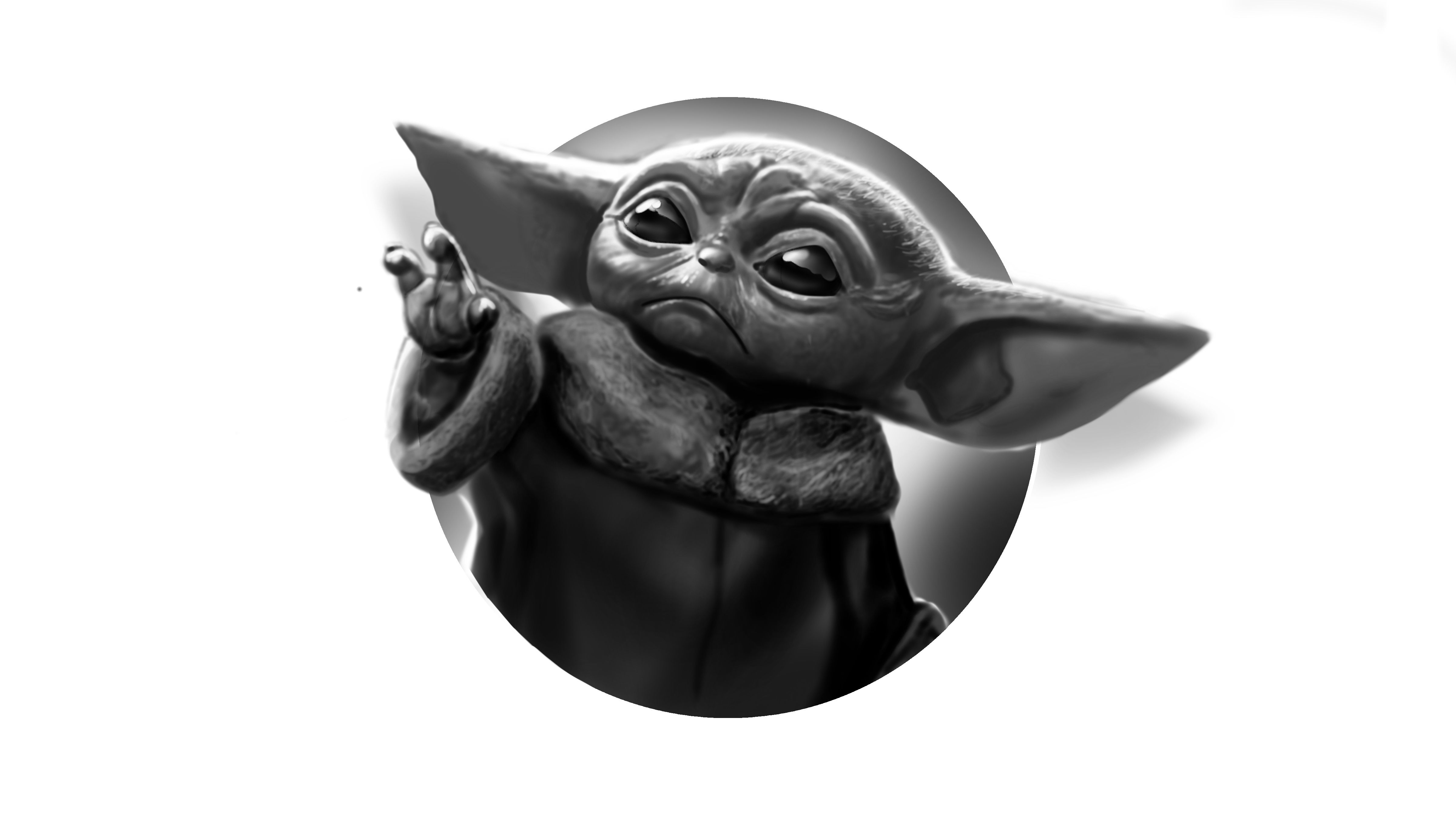 How To Draw Baby Yoda Daily Drawing Tutorial Youtube Baby Drawing Yoda Drawing Drawing Tutorial