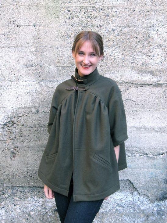 Winter Swing Jacket by MadeByMeg | DIY Sewing Projects | Pinterest ...
