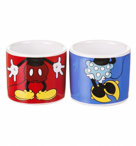 #Disney Mickey And Minnie Set Of 2 #Eggcups xoxo