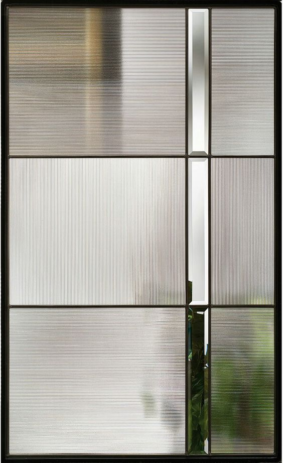 Fluted Ribbed And Reeded Texture Glass The Seasonal Edit Summer 2019 Door Glass Design Reeded Glass Modern Stained Glass