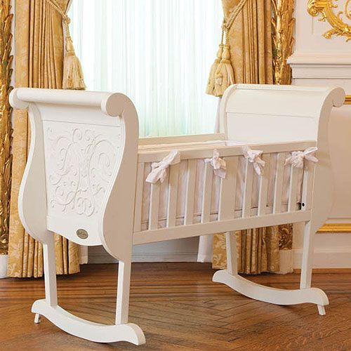 Chelsea Cradle In White From Poshtots Cradle Baby White