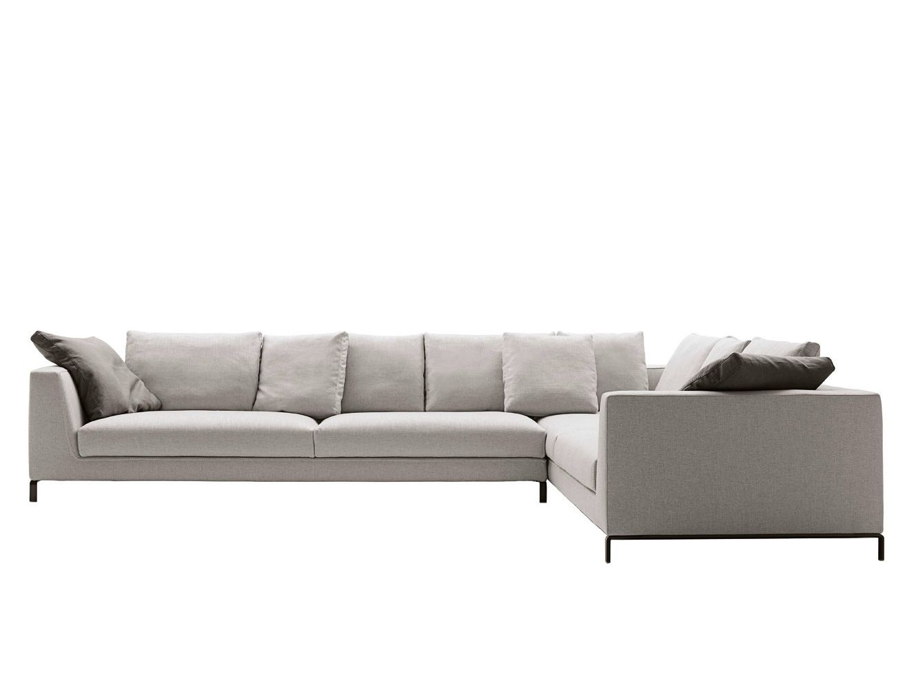 Ray sectional sofa by b sectional sofa leather for B b sofa