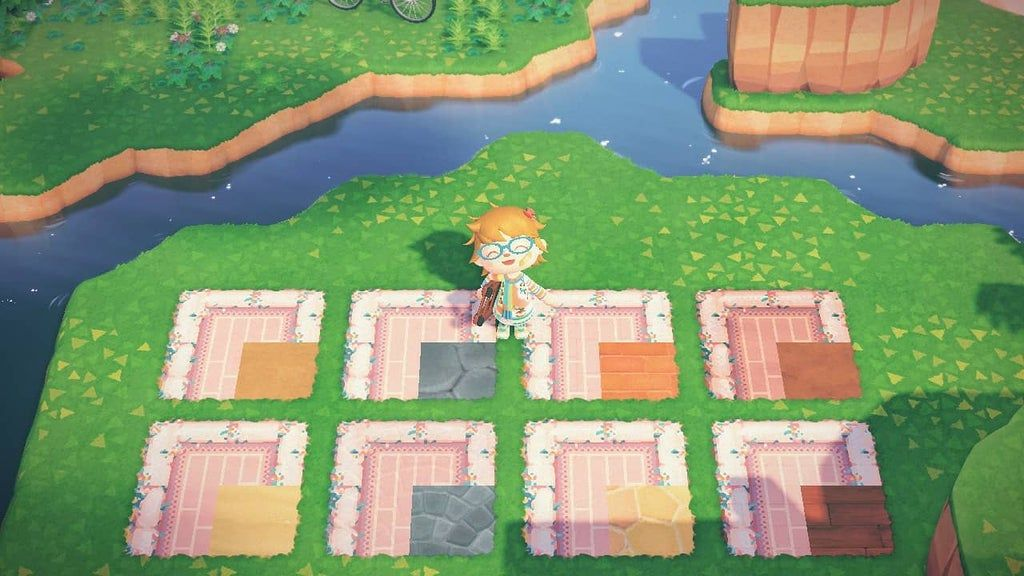 i made my very first path ever today! a cute pastel brick