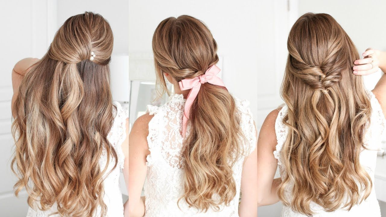 3 Easy Holiday Hairstyles Missy Sue Youtube Holiday Hairstyles Easy Holiday Hairstyles Hair Styles