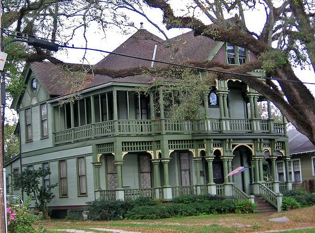Victorian House On Dauphin St Mobile Alabama Awesome