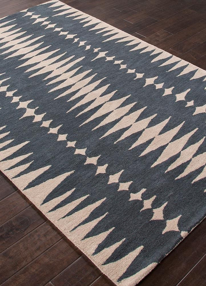 En Casa Lst27 Tear Drops Ensign Blue Bijou Blue Rug Wool Area Rugs Area Rugs Carpets Area Rugs
