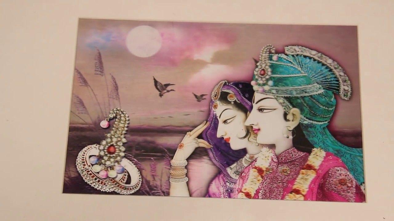 Traditional Wedding Invitation Card Box - Laxmi Singla | Wedding ...