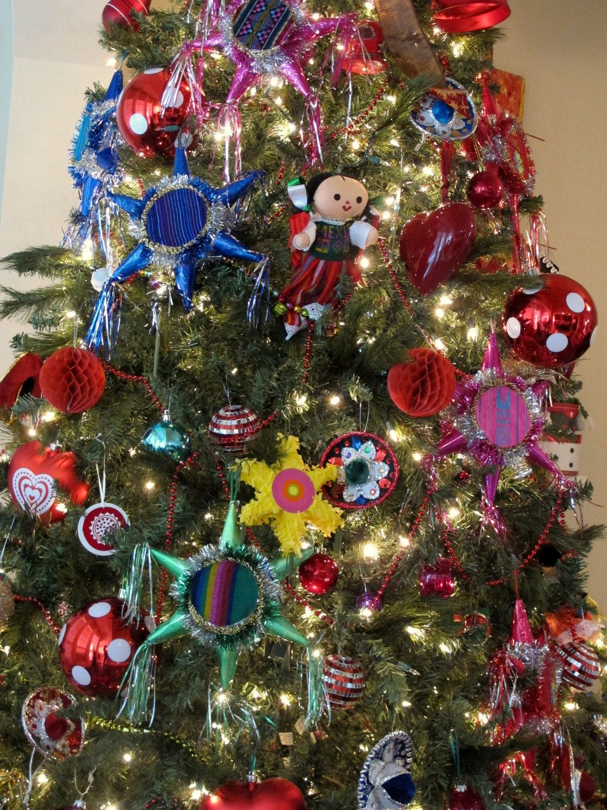 Mexican pinatas ornaments mexican christmas ornaments for Mexican christmas ornaments crafts