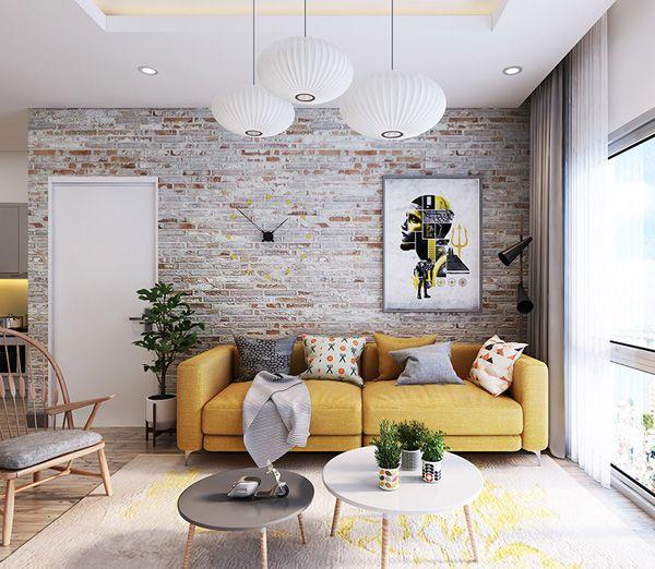 55 Brick Wall Interior Design Ideas Cuded Brick Wall Living Room Interior Wall Design Apartment Decor