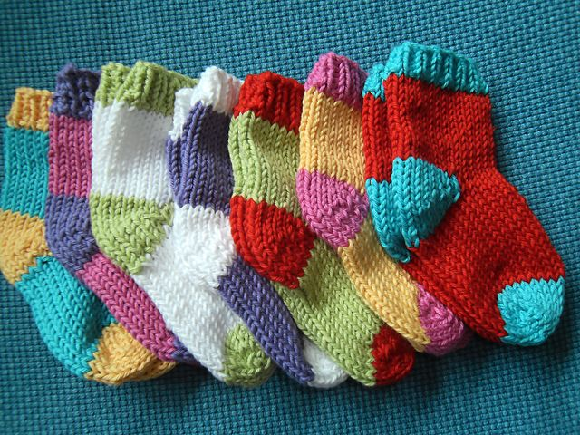 Ravelry A Box Of Socks Pattern By Love Knitting For Baby My Current