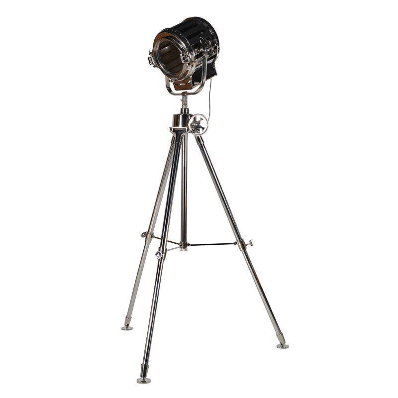 Silver Floor Lamp Standing Lamps, Tripod Spotlight Floor Lamp The Range