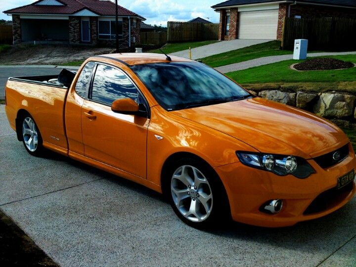 Fg Falcon Xr6 Turbo Ute In Octane Ford Falcon Australia All Car