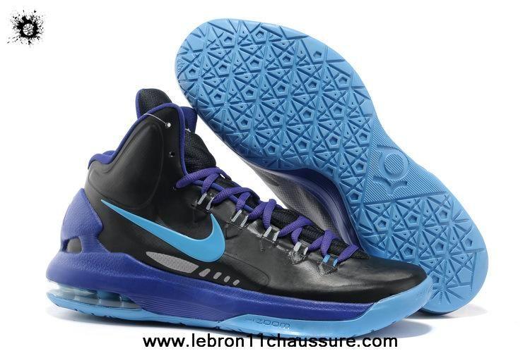 hot sale online 94800 49997 Nouveau Nike Zoom KD V 554988 003 Noir Pack Noir Bleu Glow