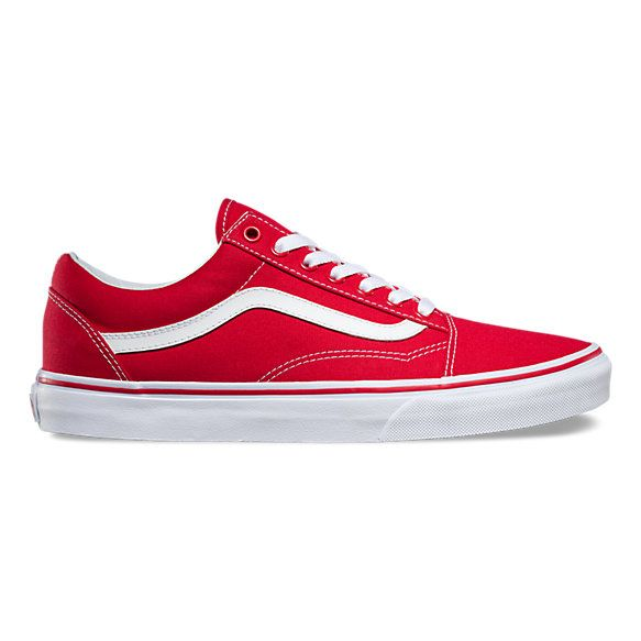 Canvas Old Skool | Mens red shoes