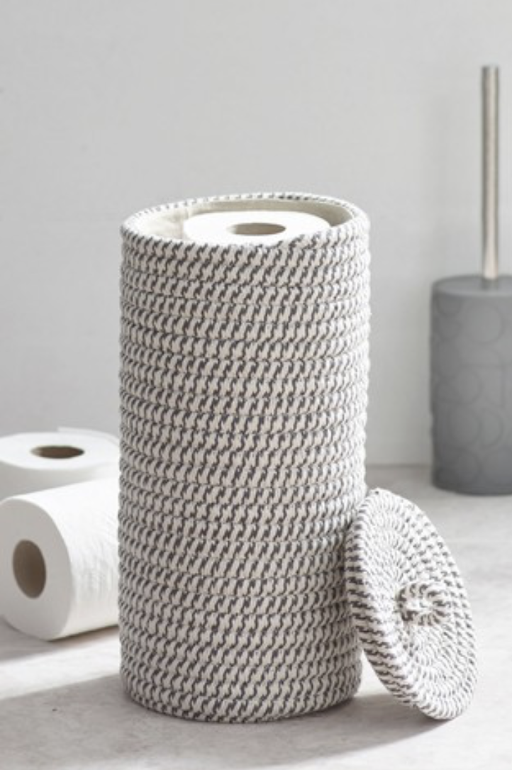 Toilet Roll Holder Em 2020 Decoracao Banheiro Pequeno Ideias Ideias Para Artesanato