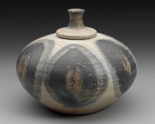 Lidded Jar      1950sToshiko Takaezu, American, 1922–2011      Bloomfield Hills, Michigan