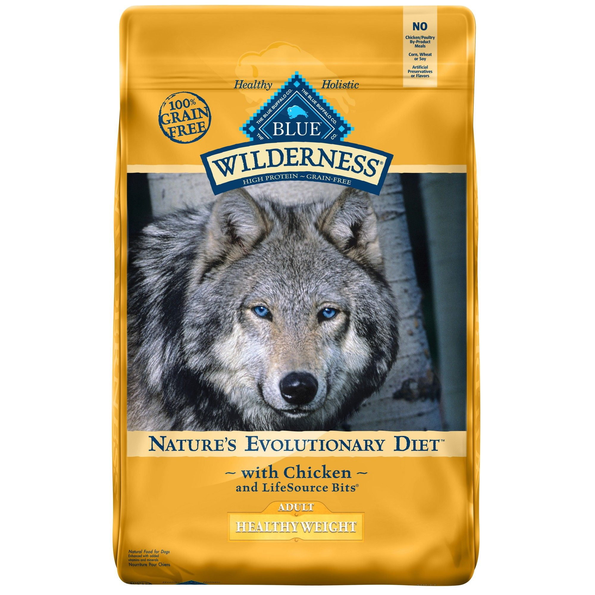 Blue Buffalo Wilderness 100 Grain Free Chicken Adult Healthy