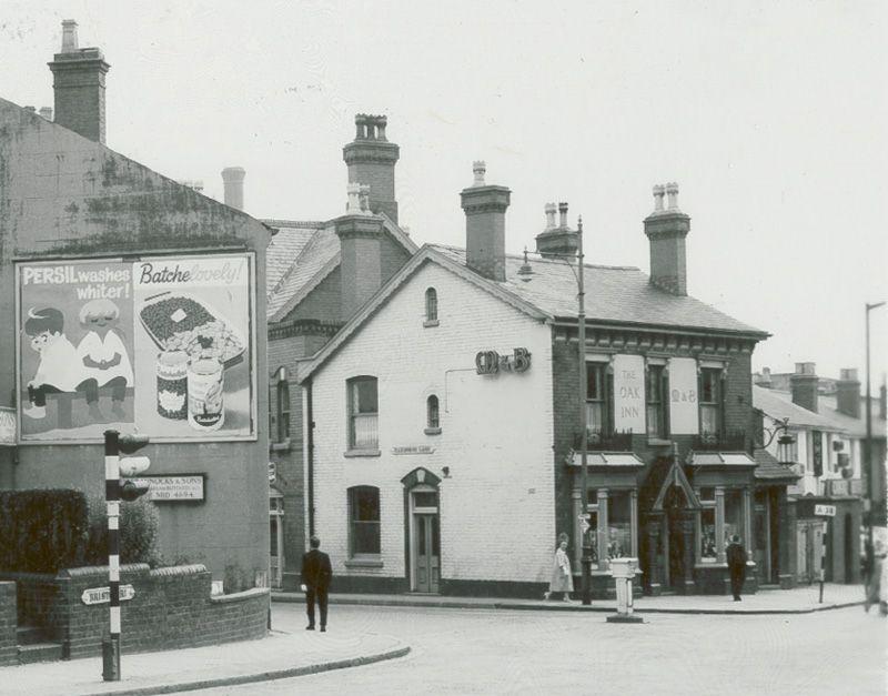 The Oak Inn Selly Oak 1963 Brummy History Birmingham