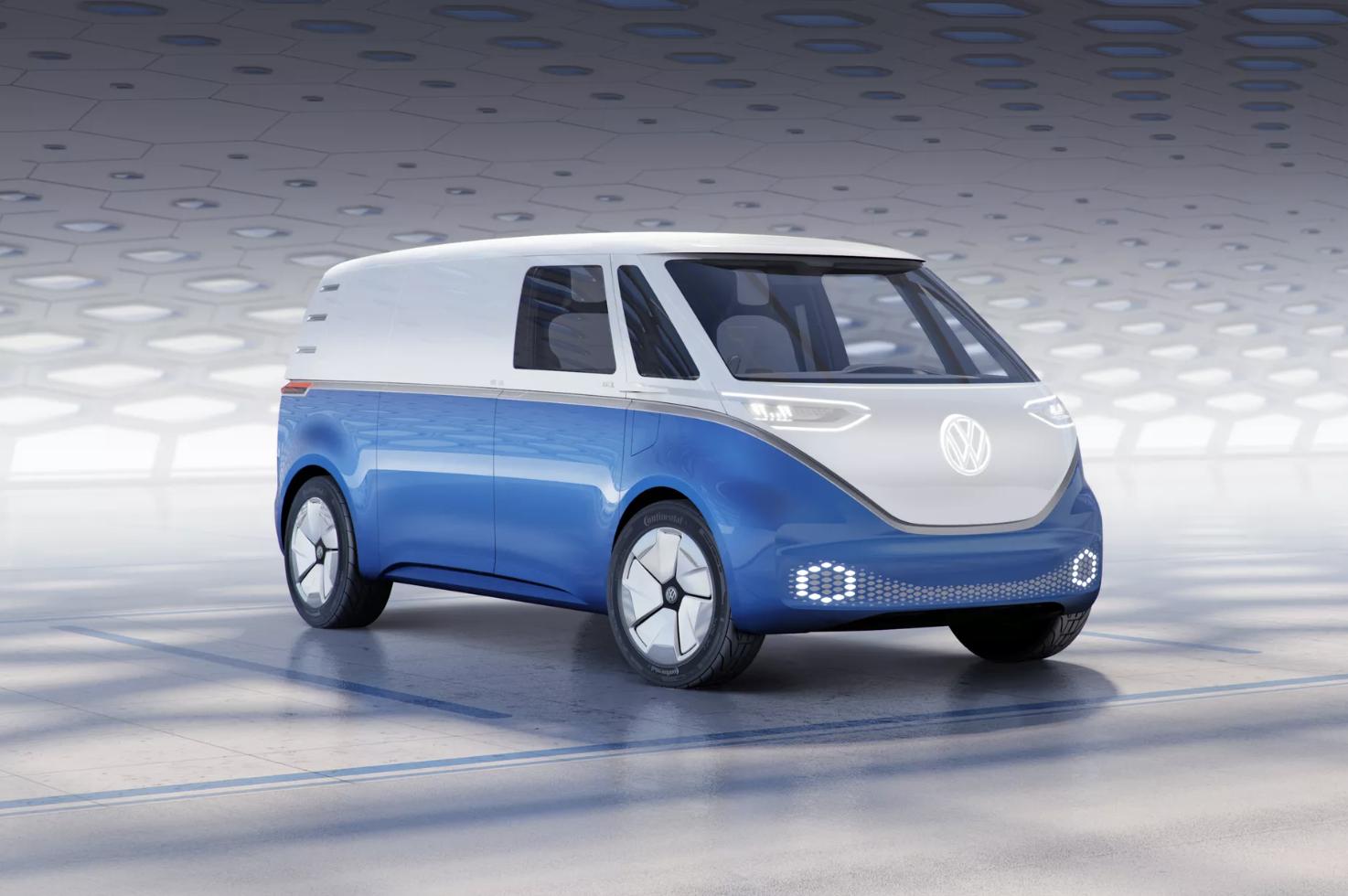 Vw Id Buzz Cargo Van Is Volkswagen S Latest Electric Delivery Van Concept Volkswagen Volkswagen Bus Volkswagen Van