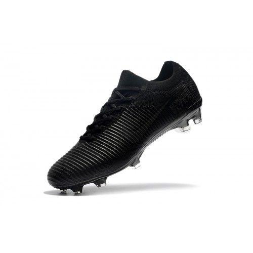 cdce4acaa401d Billig Nike Mercurial Vapor Flyknit Ultra FG Svart Fotbollsskor ...