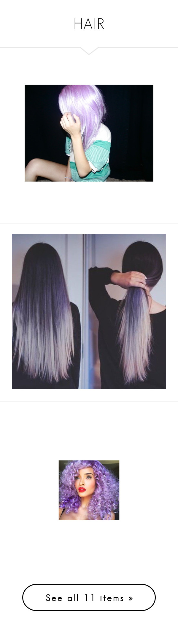 """""""HAIR"""" by sophierose189 ❤ liked on Polyvore featuring hair, pictures, girls, photos, site models, beauty products, haircare, hair styling tools, hairstyles and hair styles"""