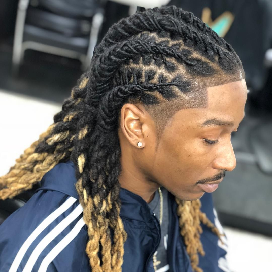 Stylist Lux N Locs Barber Versethebarbarian Model Jordansqueakin Dreadlock Hairstyles For Men Mens Braids Hairstyles Dread Hairstyles