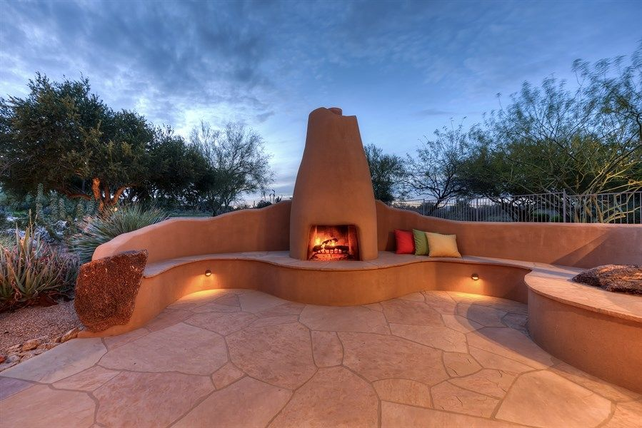 Image For Perfect Outdoor Kiva Fireplace Inspirations Outdoor Fireplace Designs Outdoor Fireplace Backyard Remodel