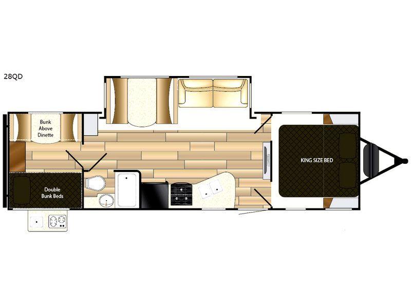 Radiance Ultra Lite Travel Trailer Rv Sales 13 Floorplans
