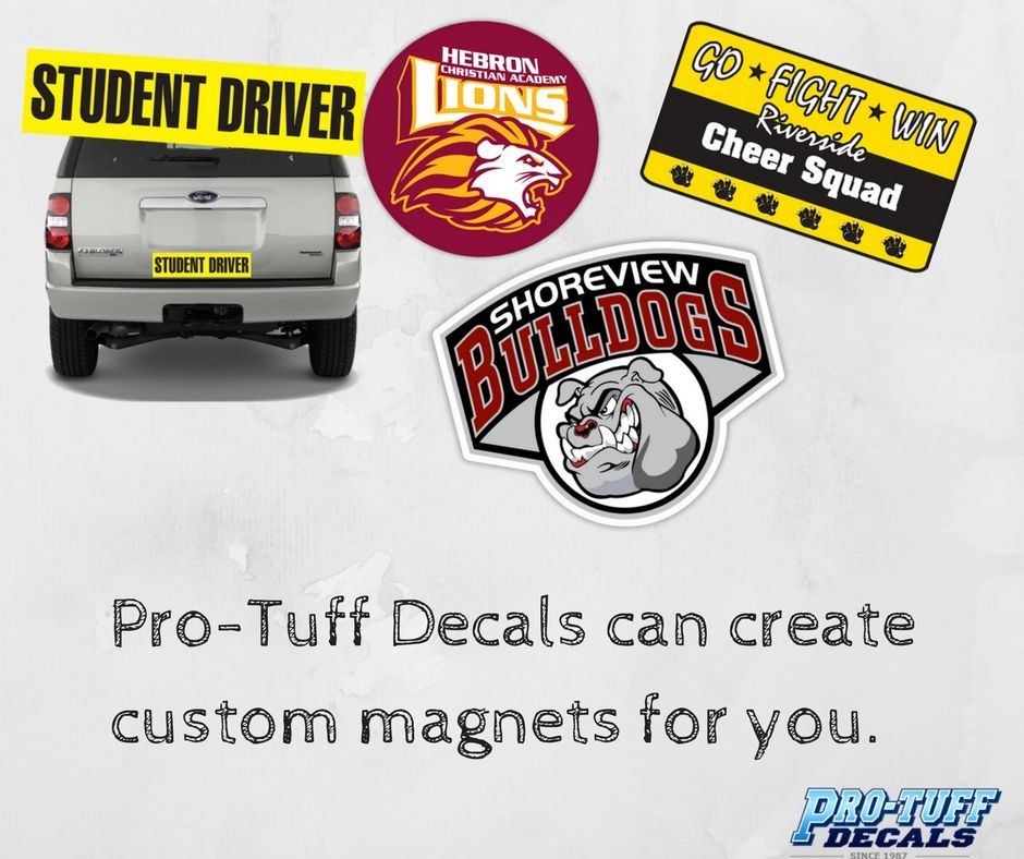ProTuffDecals can create for you. Order