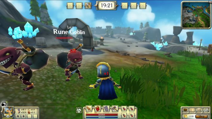 Heroes of Rune is a Free to Play Casual Browser-Based MOBA