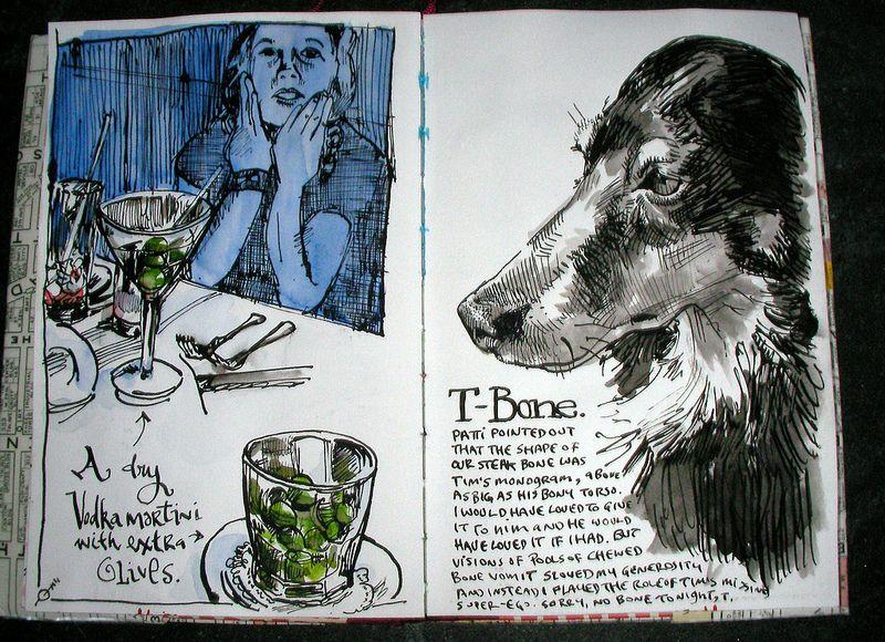 Journal Recap 39 Danny Gregory Sketchbook Drawings Book Art