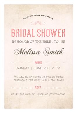 Here Comes The Bride printable invitation template Customize add