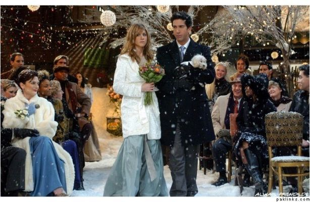 Rachel And Monica Bridesmaid Dress Phoebe Wedding Yahoo Search Results Ross And Rachel Friends Episodes Bridesmaid