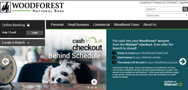 Woodforest online login platform provides a safe way to