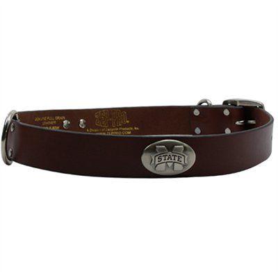 Mississippi State Bulldogs Dog Collar