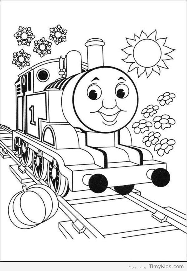 Http Timykids Com Thomas The Train Free Coloring Pages Html