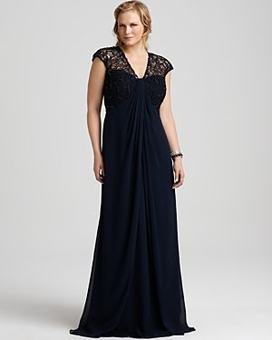 Where to buy Tadashi Shoji plus-size cocktail and evening dresses ...