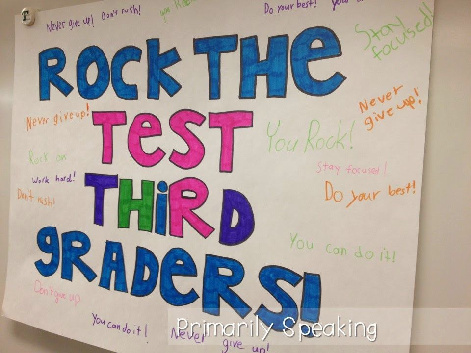 Rock the Test! | ISTEP motivators | Staar test, Test ...