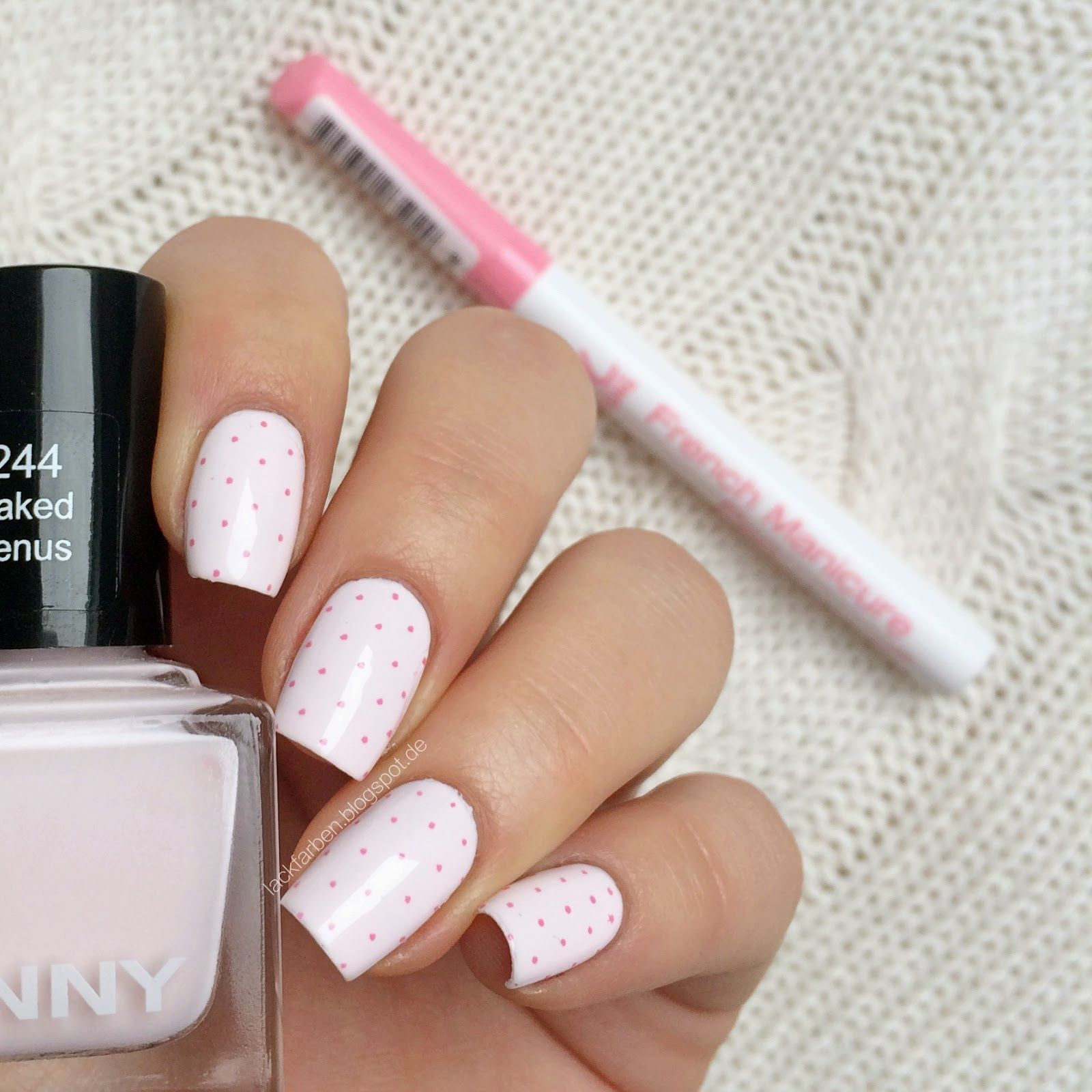 Anny - Naked Venus RdL Young French Manicure Pen @Lackfarben | Nails ...