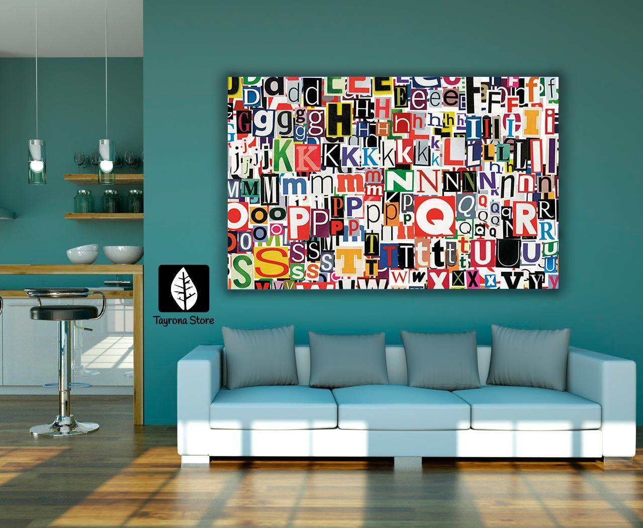 Cuadros Decorativos letras #tayronastore,#cuadros #decorativos ...