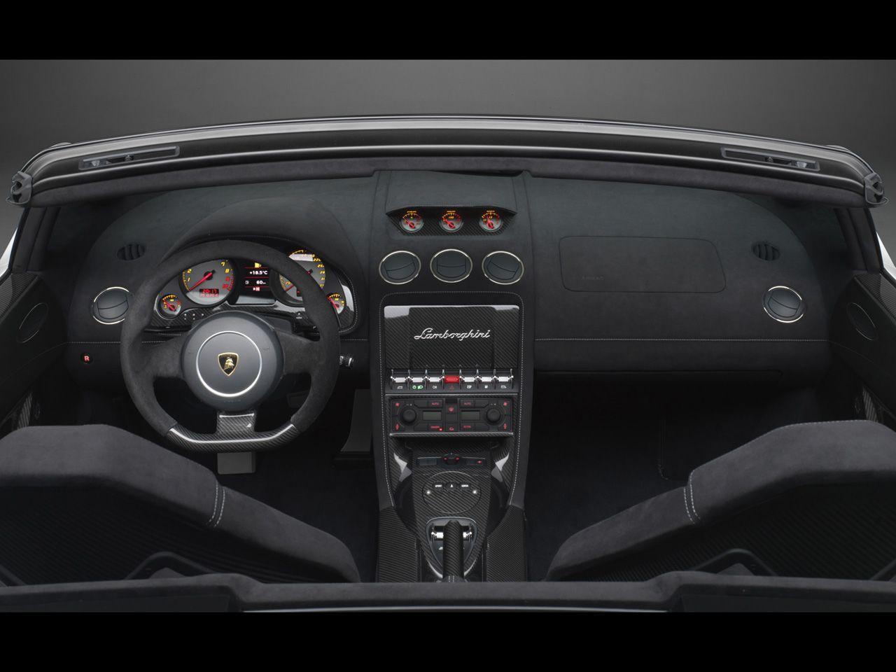 2011 Lamborghini Gallardo Lp 570 4 Spyder Performante Dashboard